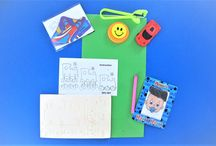 Construction Party Bag Ideas / Practical party bag gifts for children to build
