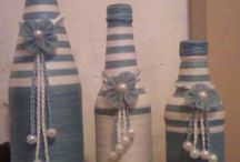 Bottles crafts