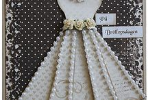 baby shower card stock dresses
