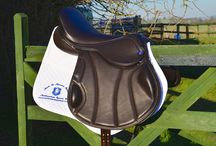 """Introducing our new NE-DB Mono-flap saddle / Introducing the new NE-DB mono. Our new close contact mono-flap saddle, designed with comfort and luxury in mind but still allowing the close contact feel with a bit more added comfort for those longer stays in the saddle. Covered in quality calf skin, this was made for a customer with a shorter leg who required a 13"""" long flap, and something a bit more forward cut"""
