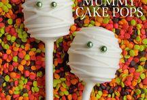 halloween cakepop