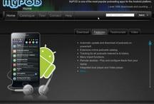 MyPOD / UI, website, photos of MyPOD related stuff