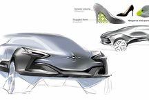 car design presentation board layouts
