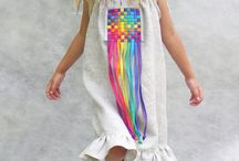 платья для девочки варианты