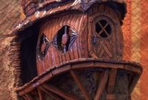 fairy house carvings