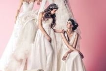 """Esposa from the First Step"" New Campaign / In an atmosphere of joy and beauty, Esposa presented one more time her brides in a new photo-shoot celebrating excellence, beauty and confidence."