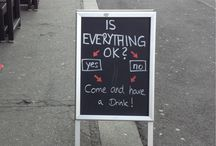 Funny Chalkboard Designs / If it's funny, it's here.