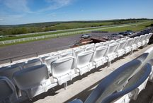 The BOX Seat at Goodwood Racecourse / The BOX Seat 901 installed in the March Grandstand at Goodwood Racecourse
