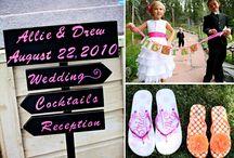 Fun Wedding Decor At The Pines!