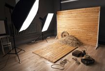 Studio for photo