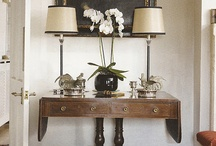 Console Tables Vignette / by Christine Hyder