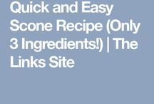 Recipes-baked goods