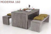 Wohnen mit Beton / Möbel und Pflanzgefäße aus Faserbeton sind nicht so schwer, wie sie aussehen!