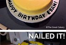 nailed it cakes