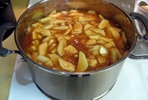 Apple pie filling & Sauces