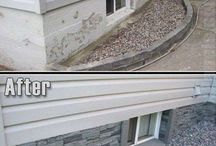 Exterior house makeover ideas