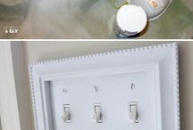 Creative idea light cover plate