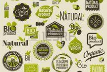 Etichette prodotti biologici