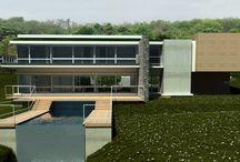 In Progress Work / Leigh Bishop Architects work in design development