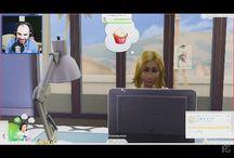 Sims face