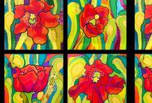Caribbean Colors Fabric Designs