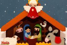 portal de Navidad.