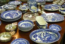 Fine Antique Crystal and China at Emporium Antiques / Emporium Antiques has an outstanding variety of fine Crystal, goblets, antique and semi-antique china
