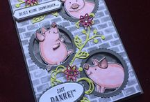 this little piggy  stampin up