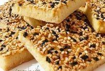 tuzlu çörek otlu kurabiye
