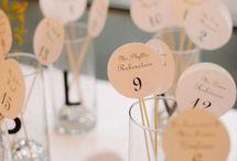 Wedding bordkort