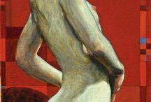 D. Chavez / Damian Chavez est né en 1976. Peintre américain. http://www.damianchavez.com