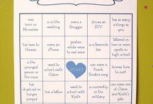 WEDDING GAMES /Funny quotes etc