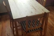 Stół i krzesła / Table and chairs  New Designe