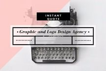 Graphic and Logo Design Agency / We make great designs and company logo that grab you major business!