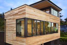 Modern ev mimari