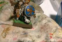 Warhammer miniatures / Some of The nicest painted Figures I found and some own self painted ones