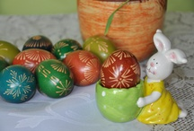 traditional polish easter eggs / pisanki