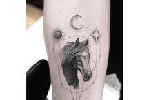 konie-tatuaże