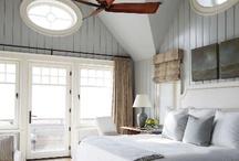 Bedroom Hamptons style