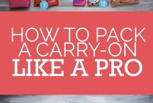 Packing Tips / Sweaters or tank tops? Walking shoes or high heels? What to take on my carry on? Packing tips for every trip!