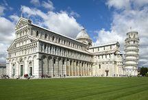 Соборный комплекс в городе Пиза, Италия (Cathedral complex in Pisa, Italy)