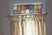 Crochet Curtains Filter Light
