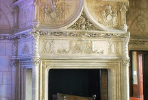 Classic fireplace / Gorgeous and beautiful fireplaces