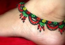 Jumkey Anklets / Amazing anklets made by super cool designers. #women's fashion ,#women's wear ,#women's anklets.