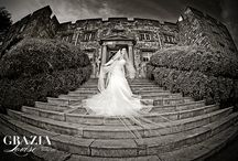 Hazlewood Castle Wedding Photography / Hazlewood Castle Wedding Photography by Grazia Louise Photography