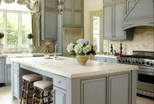 K&B Month: 2013 Kitchen and Bath Trends / Some of this year's top trends included gray color schemes, quartz finishes, white cabinetry, LED lighting & more. Show us your favorite examples of the 2013 NKBA Kitchen and Bath Style Report in action! / by The NKBA