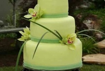 Orchid cakes