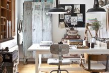 Inside [home office] / by eLL eM