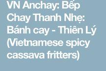 Vietnamese snacks