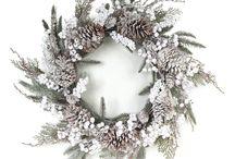 Christmas Inspiration Door Wreaths / Christmas Front Door Wreaths / by Emma Fawcett-Eustace Flowers